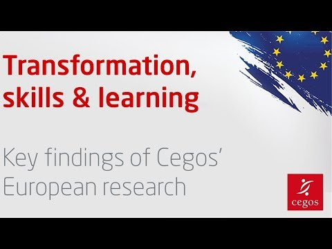 🇺🇸 Training in Europe - key findings of Cegos' research at a glance