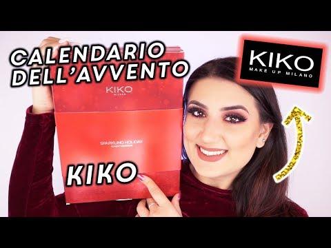 Calendario Dellavvento Makeup Revolution 2020.Calendario Dell Avvento Kiko 2018 Youtube