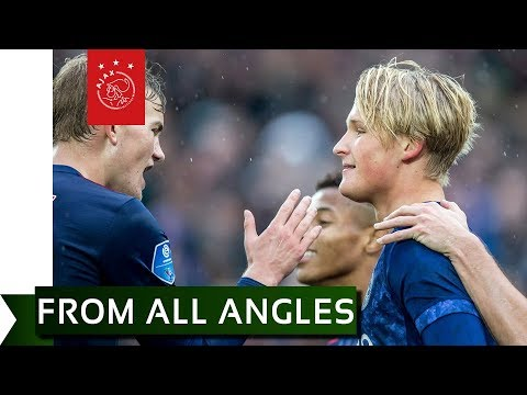 FROM ALL ANGLES ➡️ Kasper Dolberg 1-4 - Feyenoord - Ajax