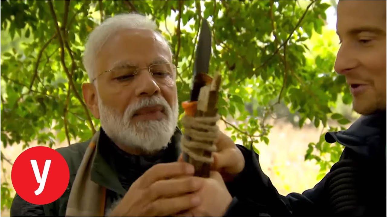 """ר""""מ הודו צילם תוכנית בג'ונגל"""