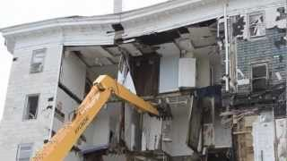 Historic Bellevue Hotel Demolition + Interview - NJ