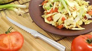Oriental Chicken Salad Recipe With Ramen Noodles | Radacutlery.com