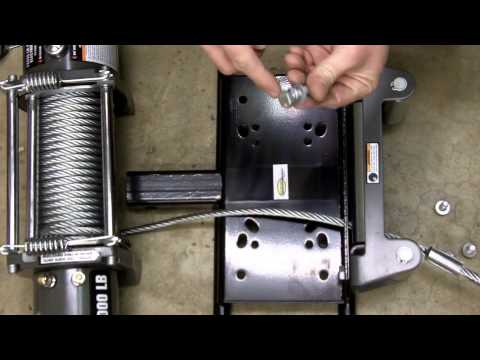 Harbor Freight 12000 LB Winch Review, Teardown, Installation, Safety, Etc. Model 61889