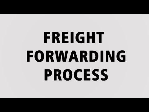 Freight Forwarding Process training 1