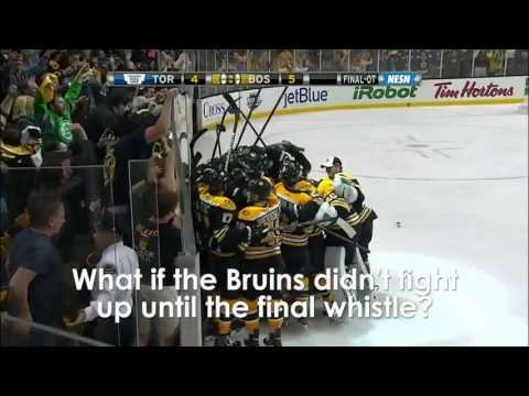 Bruins vs. Maple Leafs 1st Round Game 7 Comeback - History Will Be Made