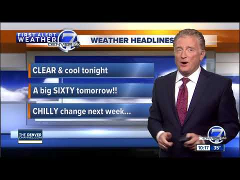 Denver Weather: Mild now, but turning sharply colder next week