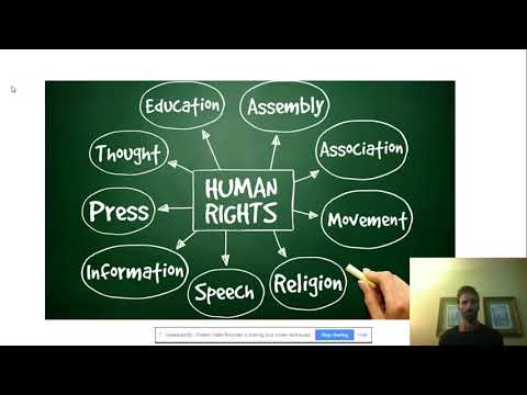 Akron Early College High School World History 9 Human Rights Online Assignment