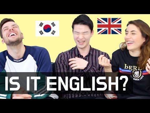 10 Korean-Style English Words which Sound WEIRD to Native Speakers(Konglish Words) [Korean Billy]