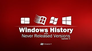 Windows History with Never Released Versions (Update 5) *FINAL ONE*