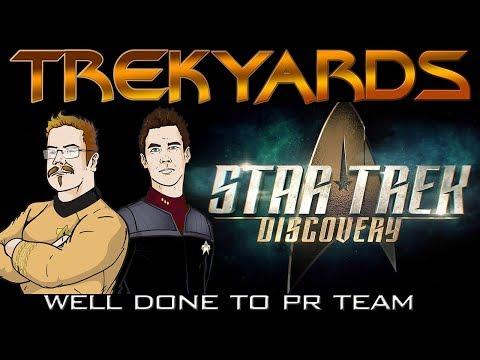Well done Star Trek Discovery PR Team from Team Trekyards!