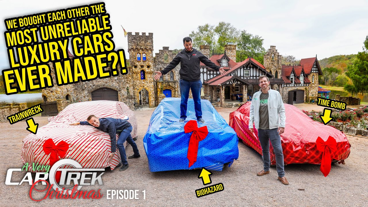We Bought Each Other The Most UNRELIABLE Luxury Cars EVER MADE - Car Trek S3 Episode 1