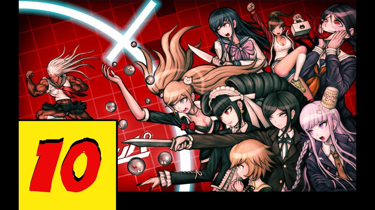 Lets play danganronpa 10 strung up and quartered