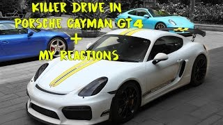 Drive in the Porsche Cayman GT4  in India | BrenGarage | #99