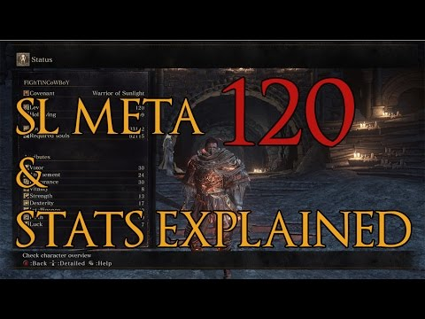 Dark Souls 3 - Stats and SL Meta Explained