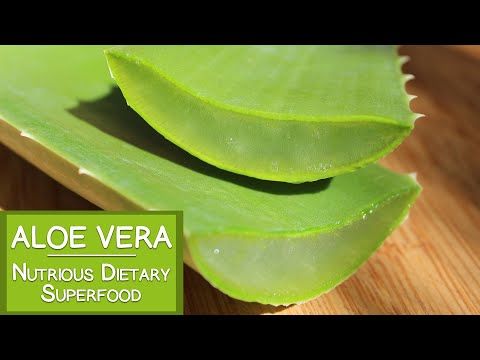 Aloe Vera Benefits as a Nutritious Dietary Superfood