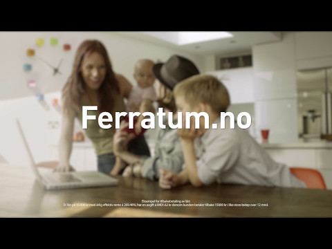 Ferratum Credit - Få forbrukslån i rekordfart