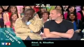 Omar et Fred fou rire TF1 Les Enfants de la Télé.