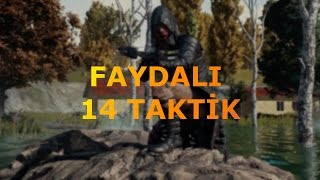 14 FAYDALI TAKTİK | Playerunknown's Battlegrounds