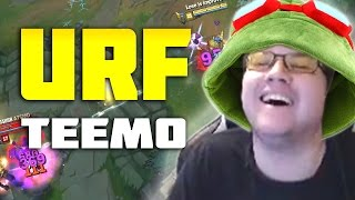 URF TEEMO IS SO TROLL!!! • Dyrus
