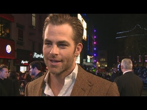 Chris Pine talks Star Trek at the Jack Ryan: Shadow Recruit premiere