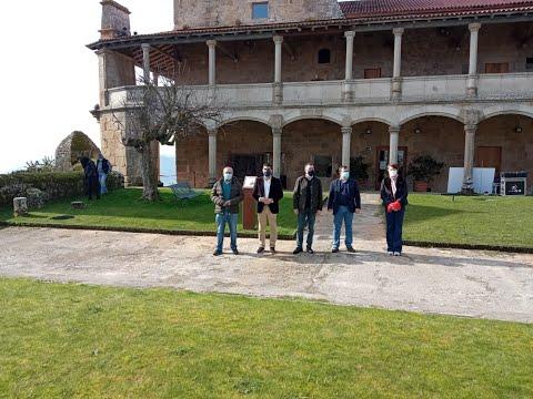 Restauración de la calzada de la fortaleza de Monterrei
