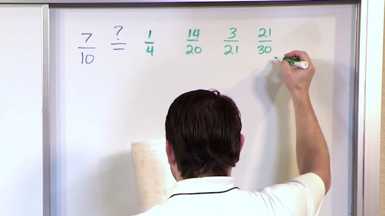 small resolution of Equivalent Fractions - 5th Grade Math - YouTube