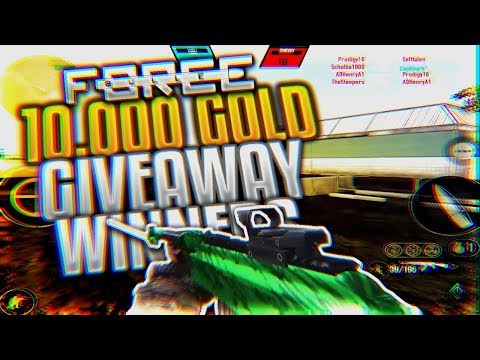 Bullet Force 10,000 Gold Monthly Giveaway #3 Winners!