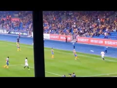 Eintracht Braunschweig gegen FC Sevilla