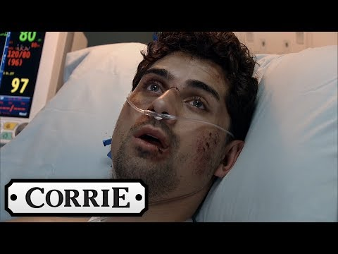 Coronation Street - A Terrified Josh Wakes Up Blind