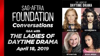 Conversations with The Ladies of Daytime Drama