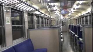 JR日豊本線 走行中の475系車内