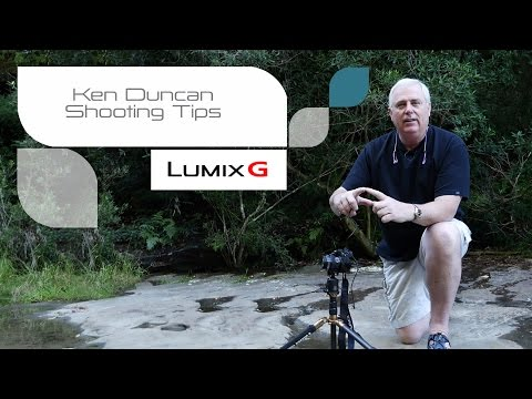 Ken Duncan - How To Shoot Waterfalls - LUMIX Shooting Tips Part 1