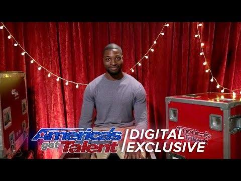 Comedian Preacher Lawson is Pumped After His AGT Audition - America's Got Talent 2017