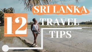 12 TIPS BEFORE TRAVELING TO SRI LANKA GUIDE | Yala National Park Vlog | Ep. 5