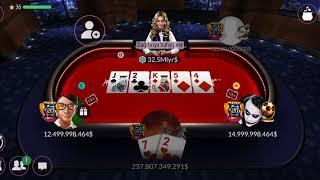 Zynga Texas Holdem Poker Crazy Player