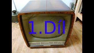 Oprava historické televize Tesla Ametyst (1960/62) 1.díl- První testy