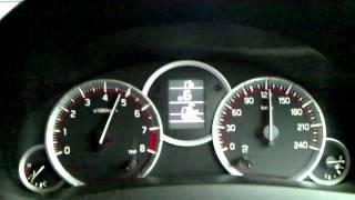 Repeat youtube video スイフトスポーツ ZC32S 0-100 加速  CVT車  Mモード