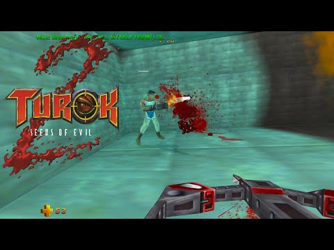 Turok 2: Seeds of Evil Multiplayer In 2021 First Time Online | 4K |