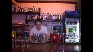 трюки бармена в буржуе
