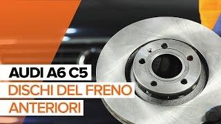 Come sostituire dischi del freno anteriori e ganasce del freno anteriori su AUDI A6 C5 [TUTORIAL]