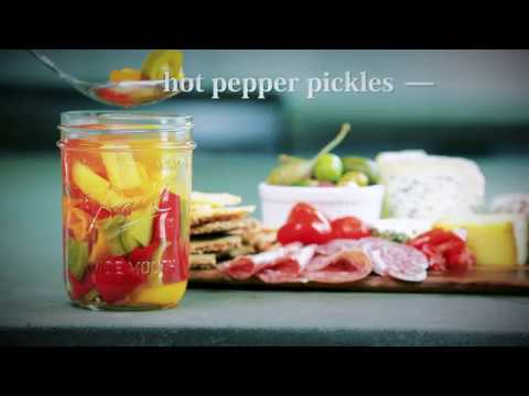 Ball® Canning: Pickled Hot Peppers