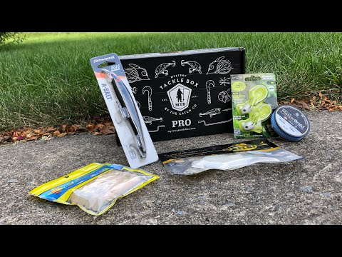 Repeat Mystery Tackle Box Inshore Saltwater Unboxing - July