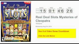 Reel Deal Slots Mysteries of Cleopatra PC Countdown
