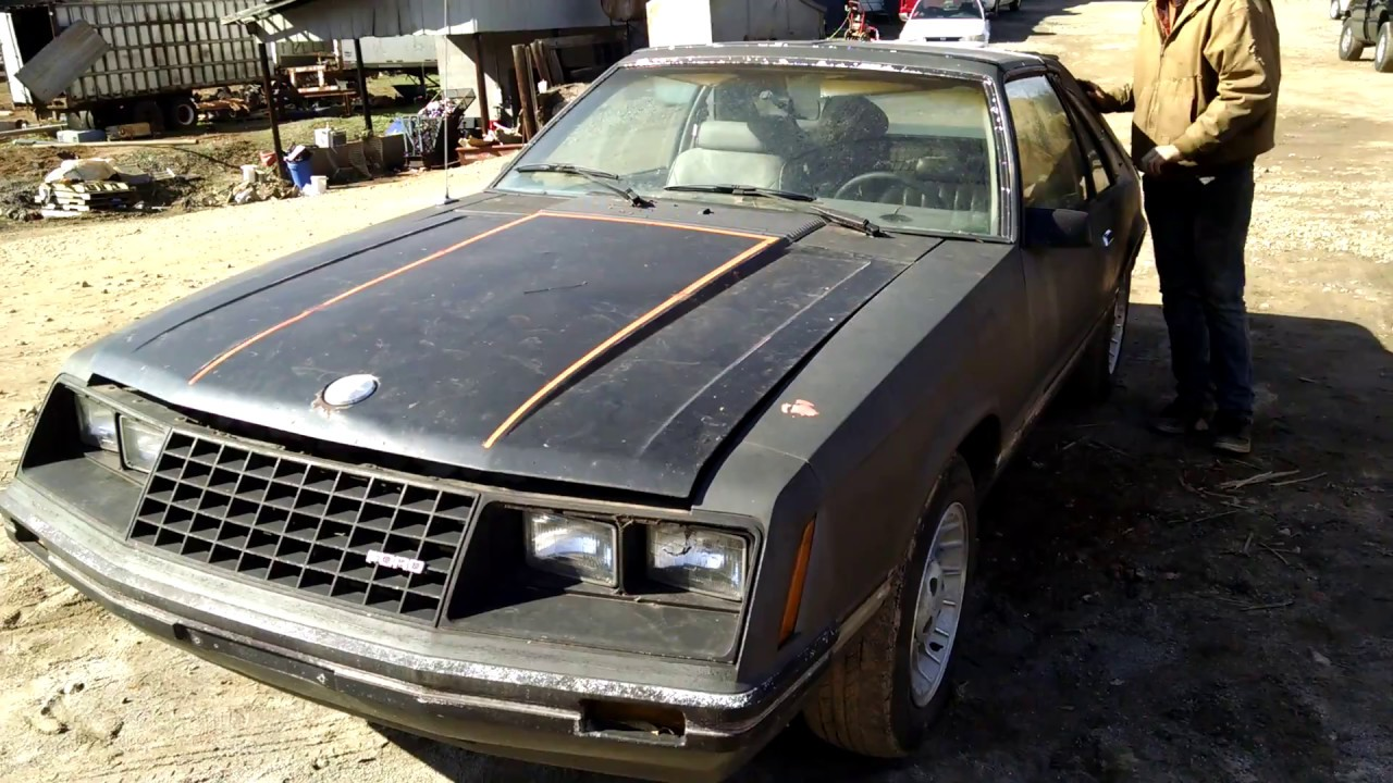 New rescue 1981 ford mustang