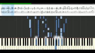 K-Ci And Jojo - All My Life [Piano Tutorial] Synthesia