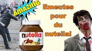 DES BAGARRES POUR DU NUTELLA! compilation avec humour des emeutes aux intermarchés