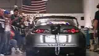 Bryan's Toyota Supra on the dyno