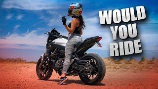My Girlfriend Gave me a Ride on a Sport Bike!