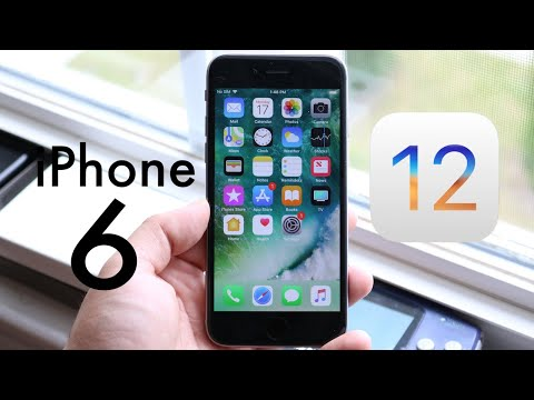 iOS 12 OFFICIAL On iPHONE 6! (Should You Update?) (Review)