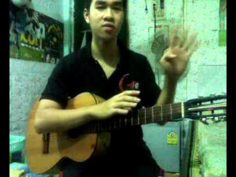 """Hướng dẫn """"Chuyện tình thảo nguyên"""" guitar by Hoàng Anh Nguyễn"""